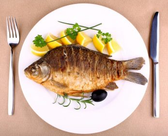 Eating fish is good for health