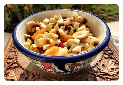 Tasty Fruit Chaat yummy....