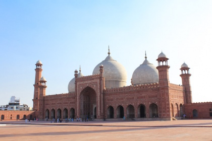 Pakistan Beautiful Mosque Badshahi Mosque
