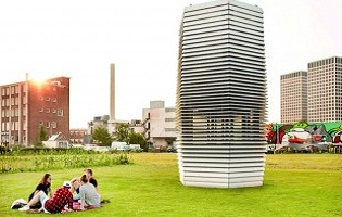 Smog free Tower a secillating technology