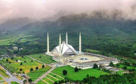 Pakistan Most Beautiful Mosque Faisal Mosque