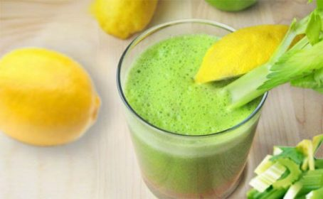 Lemon & celery juice