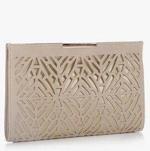 ccarlton london beige clutch