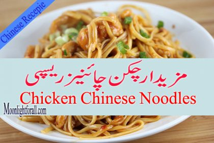 Chicken Chinese Noodles