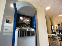 First Pizza provider machine introduced in America