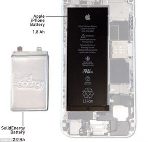 Great sucess achieve to double the battery performance of smartphones 1