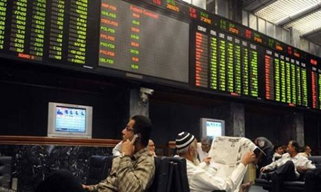 Karachi stock exchange has made a record business