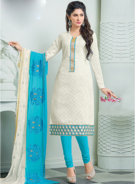 Khushali fashion white printed dress