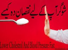 Lower Cholestrol And Blood Pressure Fast