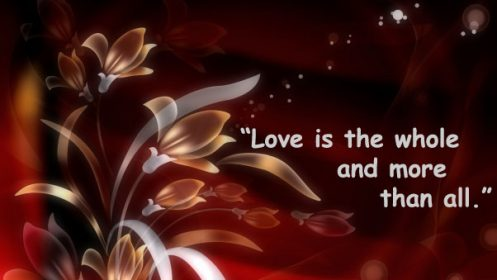 English quotes about love