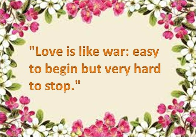 Beautiful English Quotes About Love