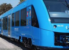 A company of France Alstrem has made this train.Due to Hydrogen engine it is very quite and atmospheric friendly train
