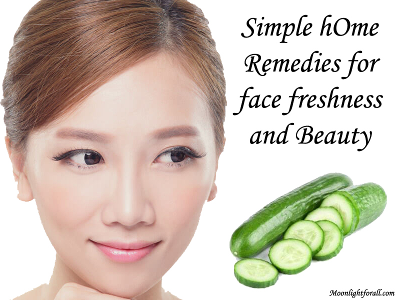 Simple Home Remedies For Face Beauty And Freshness