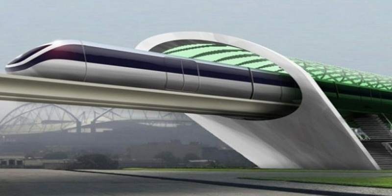 A hyper loop name train more faster than plane in Dubai introduced