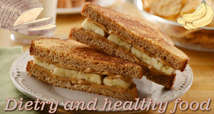 Peanut butter and banana sandwich recipe