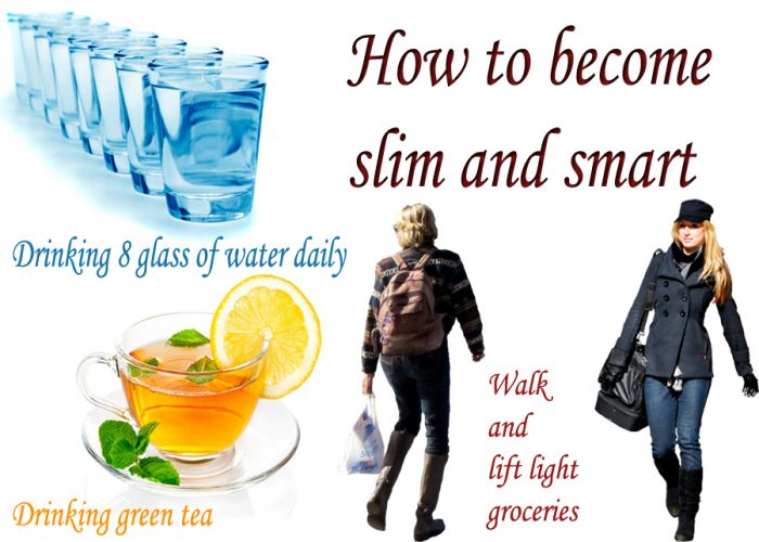 How to become slim and smart