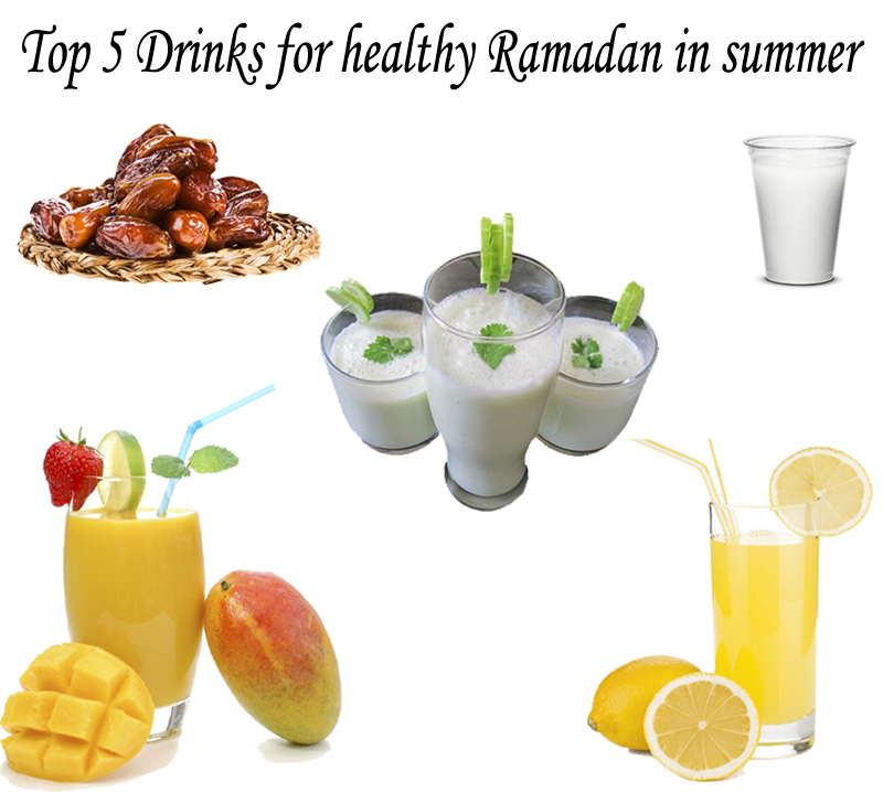Top 5 drinks of Ramadan in summer