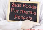 best foods for anemia patients
