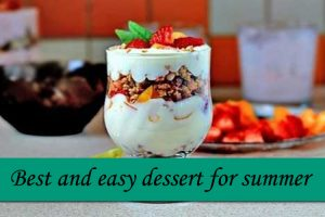 Fresh Fruit Dessert Recipe