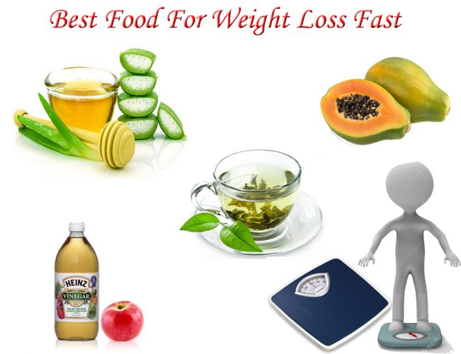 Foods For Fast Weight Loss
