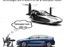 WORLD IS STILL TRYING TO MAKE CARS LOOK ALIKE HELICOPTERS