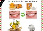 Home Remedy For Teeth Whiten Your Teeth Naturally & Safely