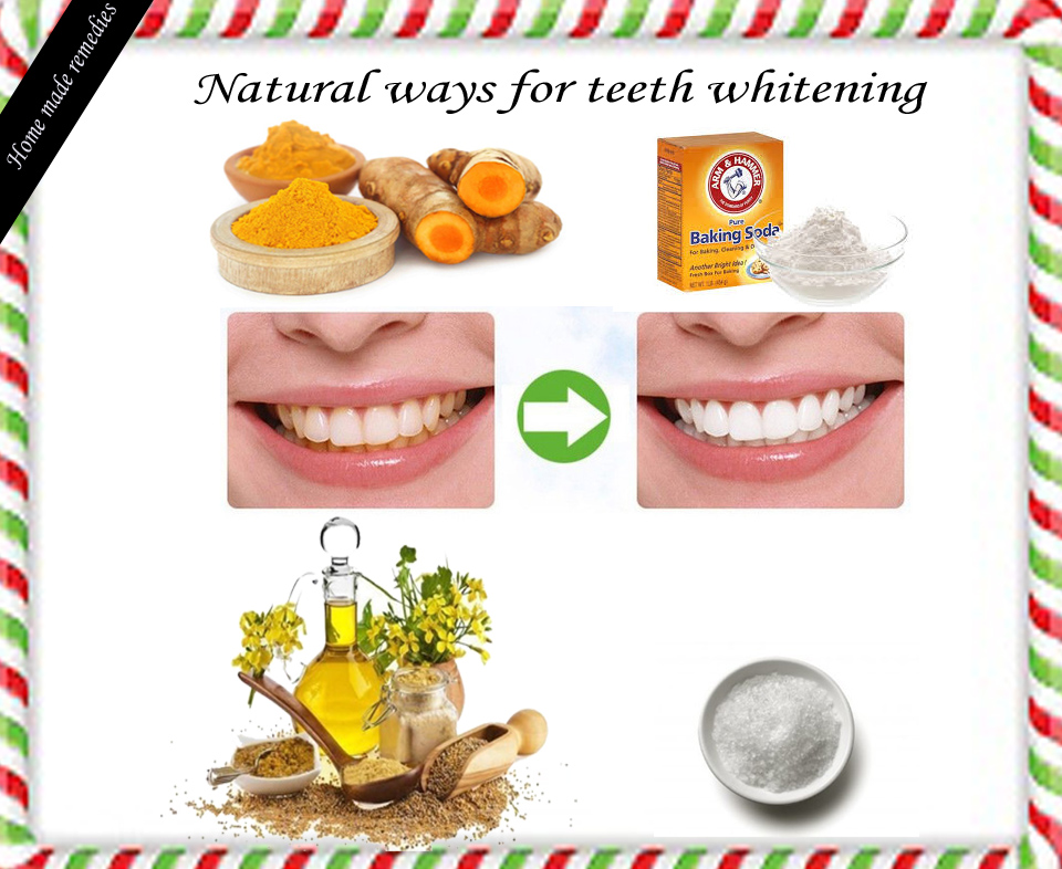 Home Remedy For Teeth Whiten Your Teeth Naturally Safely